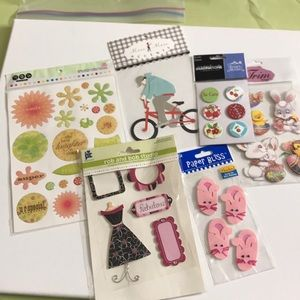 Other - Lot 41 - Scrapbook Stickers